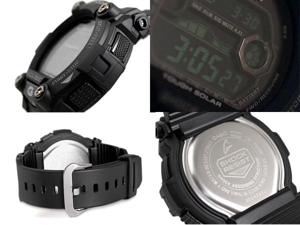 + 카시오 지 충격 G 충격 전파 솔 러 디지털 시계 올 블랙 GW-7900B-1