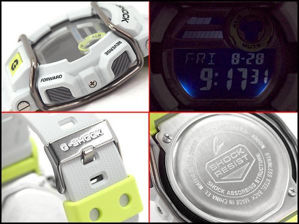 凱西歐 g 震撼凱西歐 G 衝擊塵土飛揚 / 霓虹燈系列手錶 GD-400DN-8CR