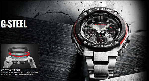 94d6649ac1f Adopted new guard layer structure from the g-shock toughness to pursue and  continue to evolve