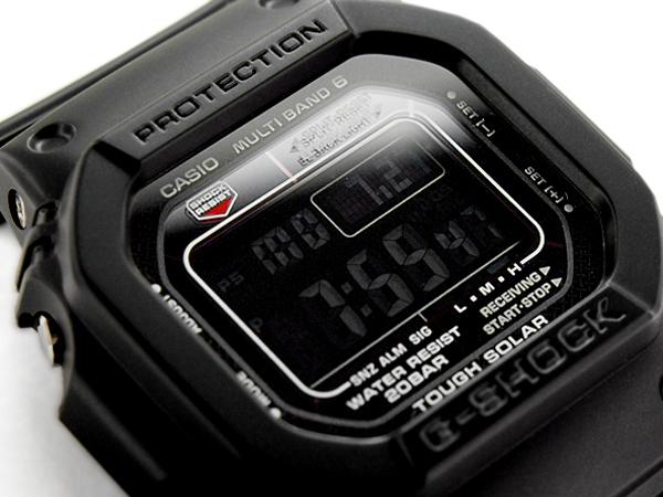 G-SHOCK Gショック ジーショック カシオ 電波ソーラー 腕時計 GW-M5610-1BJF オールブラック 国内正規モデル【あす楽】