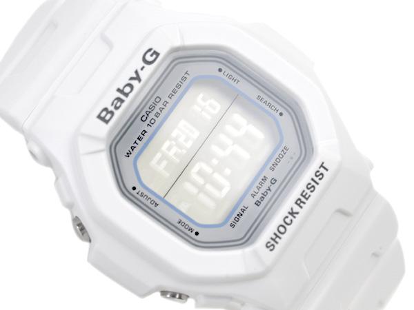 d335403c2c8b G-SUPPLY  Casio baby G imports international model ladies digital watch  flip white LCD white urethane belt BG 5600WH-7