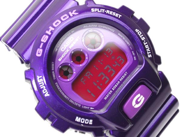 27bf98a47 G-SUPPLY: + Casio imports overseas model G shock crazy colors lame harmonic  gloss purple flip pink liquid urethane belt DW-6900CC-6 | Rakuten Global  Market