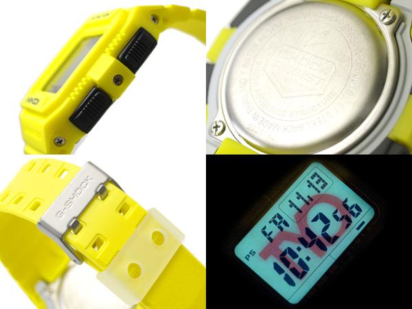 카시오 G 쇼크 일본 미 발매 해외 모델 터프 솔 러 디지털 시계 TYO 레몬 옐로우 G-5500TS-9