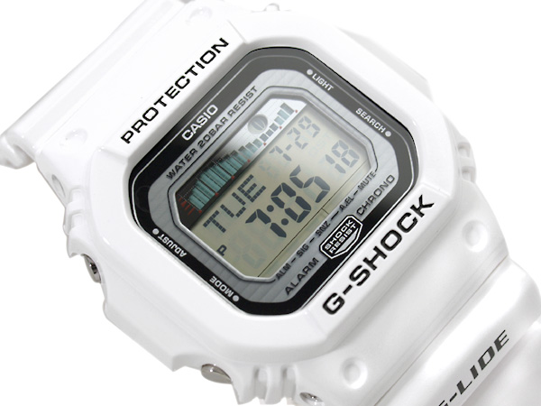 Casio G shock overseas model G-LIDE digital watch white enamel GLX-5600-7