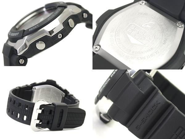 卡西歐G打擊海外專賣型號模擬計時儀手表不銹鋼×尿烷搭擋情况黑色撥盤黑色尿烷皮帶G-1010-1 G-1010-1A fs3gm