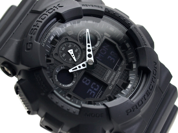 5年間保証対象 GA-100-1A1DR G-SHOCK Gショック ジーショック gshock 買収 カシオ CASIO アナデジ 逆輸入海外モデル 腕時計 GA-100-1A1 ブランド買うならブランドオフ メンズ