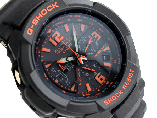 newest 0a8fa e4281 Pat G-SHOCK G-Shock reimportation foreign countries model SKY COCKPIT sky  cockpit CASIO Casio electric wave solar radio time signal men's a; the  watch ...