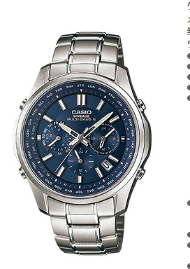 LIW-M610D-2AJF カシオ CASIO LINEAGE リニエージ クロノグラフ 電波ソーラー 腕時計 LIW-M610D-2AJF 国内正規品