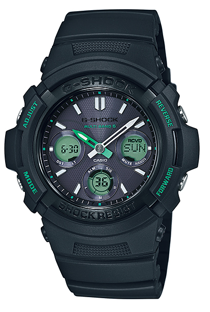 """G AWG-M100F-1CJR g-休克""""凱西歐 gshock 凱西歐手錶"""