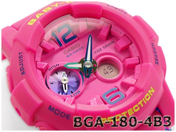 BGA-180-4B3CR Baby-G ピンク カシオ ベビーG babyg カシオ CASIO アナデジ ベビーG babyg 腕時計 ピンク BGA-180-4B3, こだわりのキッチンツール ATJ:7c45b689 --- officewill.xsrv.jp