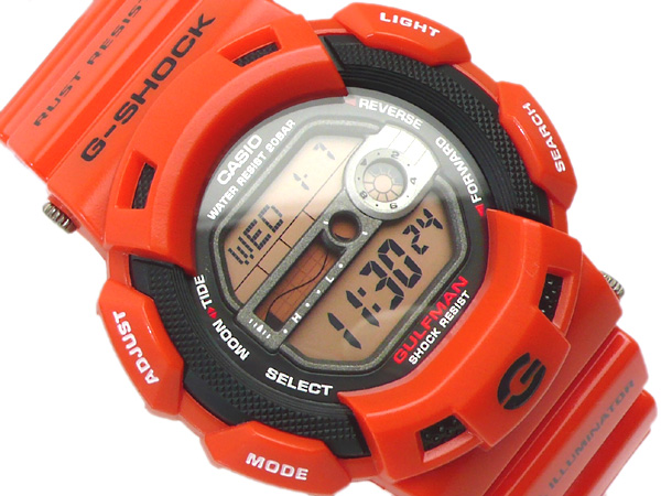 G-9100R-4DR G-SHOCK G打擊G打擊gshock卡西歐CASIO手錶