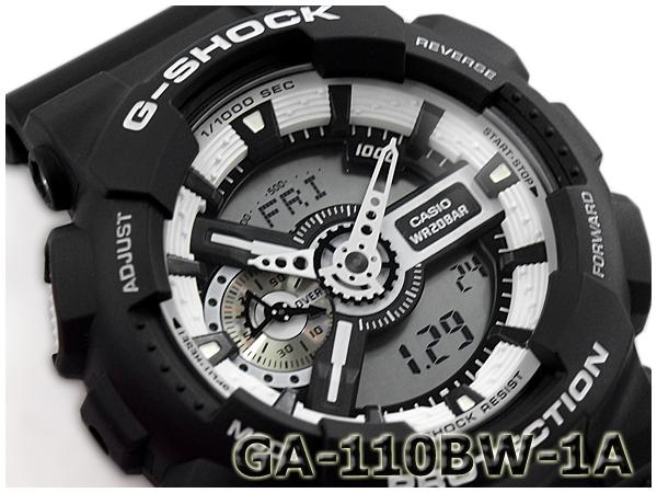 G-SHOCK Gショック アナデジ ジーショック カシオ CASIO White and Black Series ホワイト GA-110BW-1ACR ホワイト&ブラックシリーズ アナデジ 腕時計 ブラック ホワイト GA-110BW-1ACR GA-110BW-1A, スーパーセール期間限定:e9af263d --- officewill.xsrv.jp