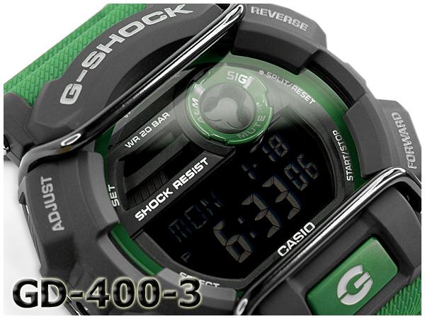 """GD-400-3 博士 g 震撼 G 衝擊""""gshock 凱西歐凱西歐手錶 GD-400-3"""