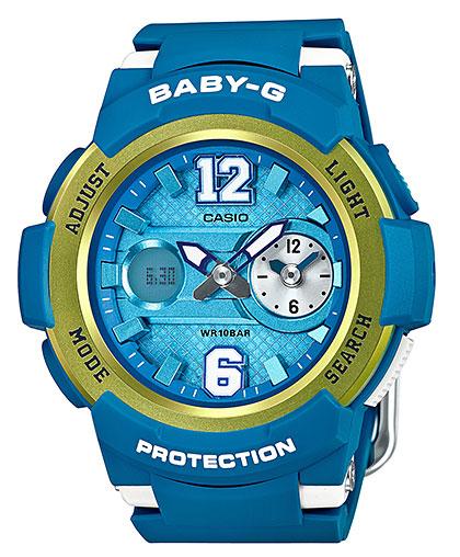 カシオ CASIO BABY-G ベビーG BABY-G ブルー アナデジ レディース 腕時計 ブルー カシオ メタリックイエロー BGA-210-2BJF 国内正規品, SHOP ALWAYS:50e20ae8 --- officewill.xsrv.jp