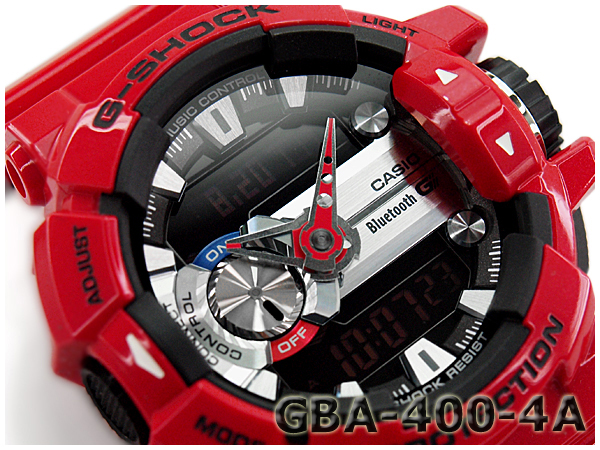 "GBA-400-4AER g-休克 G 休克""gshock 凱西歐凱西歐手錶 GBA-400-4 A"