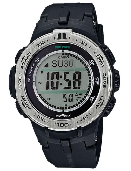 保捷行卡: 凱西歐西歐保捷行太陽射電手錶黑色壓水型核反應爐-3100-1JF 國內真正