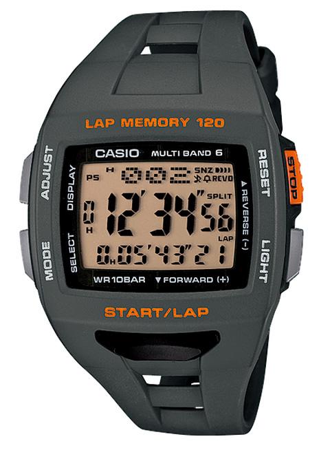カシオ CASIO PHYS 腕時計 フィズ ランナー ソーラー PHYS 電波 腕時計 ランナー グレー オレンジ STW-1000-8JF 国内正規品, Ari shop:07822170 --- officewill.xsrv.jp