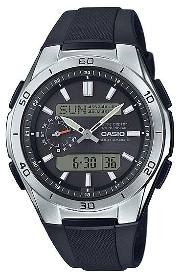 カシオ CASIO 電波 wave 腕時計 ceptor ウェーブセプター ソーラー 電波 WVA-M650-1AJF アナデジ 腕時計 シルバー ブラック WVA-M650-1AJF 国内正規品, 都路村:a3a92ebc --- officewill.xsrv.jp