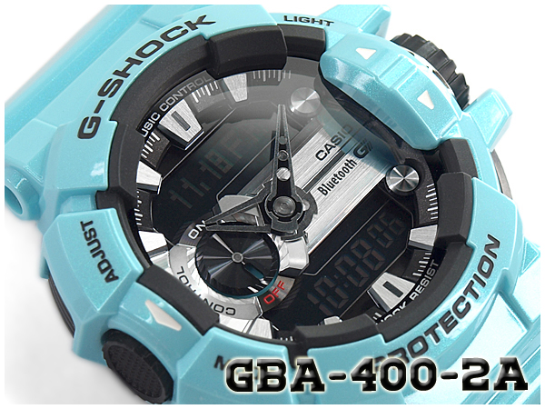 online retailer 41fee 5e751 G ショックジーショック G-SHOCK Casio CASIO-limited モデルジーミックス G' MIX Bluetooth スマフォ  cooperation model reimportation foreign countries モデルアナデジ watch light blue  ...