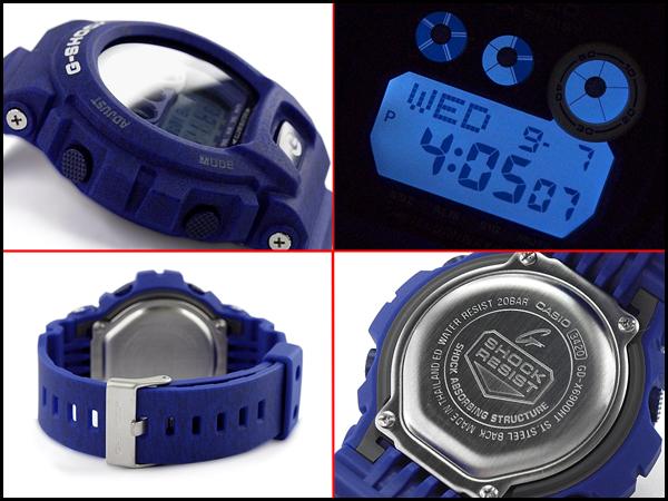 CASIO G-SHOCK カシオ Gショック 逆輸入海外モデル ヘザード・カラー・シリーズ 限定モデル デジタル 腕時計 ブルー GD-X6900HT-1ER GD-X6900HT-2