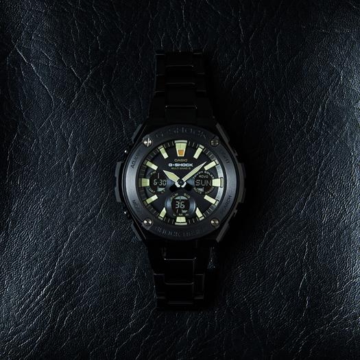 G-SHOCK G打擊G打擊G-STEEL G鋼鐵卡西歐CASIO電波soraanadejimenzu手錶黑色GST-W130BD-1AJF