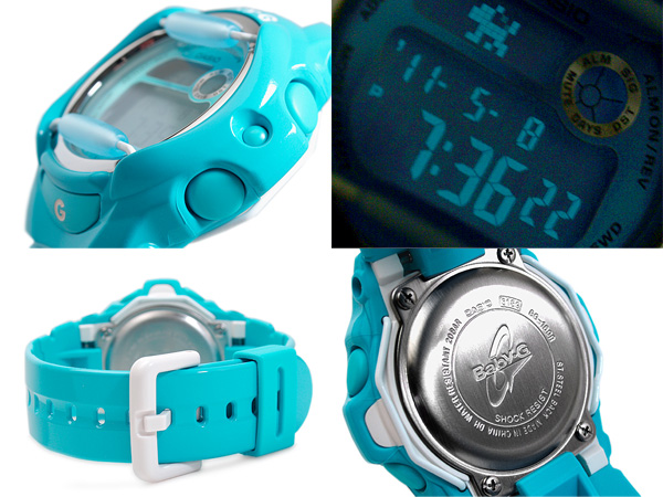 CASIO baby-g Casio baby G Color Display Series color monitor digital Watch Blue BG-169R-2BDR BG-169R-2BCR BG-169R-2B