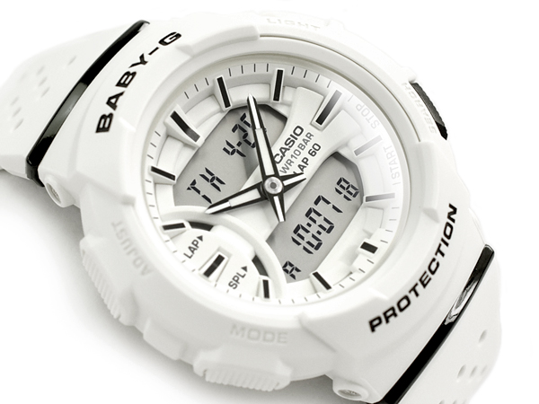 8eb403c10baf G-SUPPLY  Baby G Baby-G ベビージー reimportation foreign countries model Casio  CASIO アナデジ watch white BGA-240-7ADR BGA-240-7A