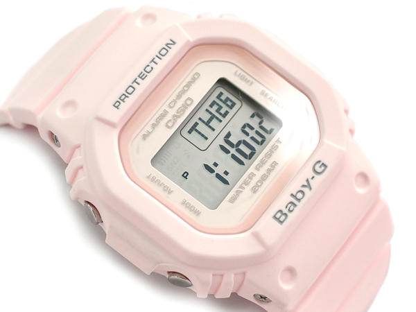 Baby G Baby G ベビージー reimportation foreign countries model Casio CASIO digital watch pink BGD 560 4DR BGD 560 4