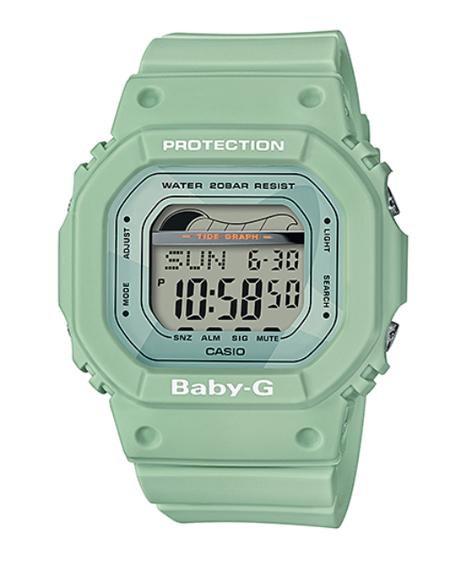 d1ed4d6a2400 G Supply Baby ベビージー Lide ジーライドカシオ Casio. Casio Clic Light Green Digital  Watch