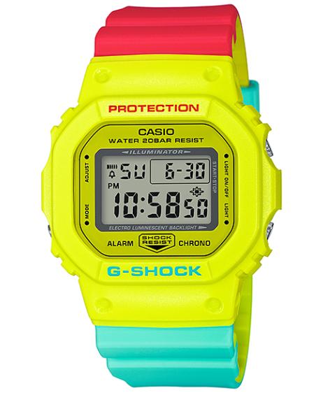 215160b5bd39 G-SUPPLY  G-SHOCK G ショックジーショック-limited model Breezy Rasta Color Casio CASIO  digital watch raster color red yellow-green DW-5600CMA-9JF
