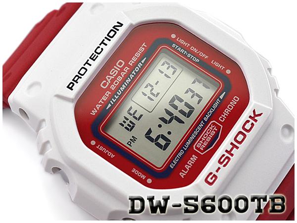 G-SHOCK Gショック ジーショック THROW BACK 1983 限定モデル 逆輸入海外モデル CASIO カシオ デジタル 腕時計 ホワイト レッド DW-5600TB-4ADR DW-5600TB-4A【あす楽】