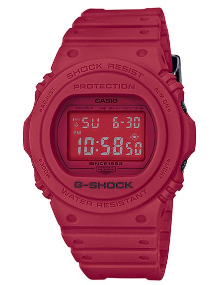 G-SHOCK Gショック ジーショック 35周年 限定モデル RED OUT(レッドアウト) スティングモデル カシオ CASIO デジタル 腕時計 レッド DW-5735C-4JR【国内正規モデル】:G専門店 G-SUPPLY(ジーサプライ)