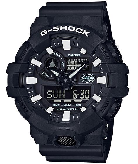 G-SHOCK Gショック ジーショック 35th Anniversary ERIC HAZE エリック・ヘイズ コラボ 限定モデル カシオ CASIO アナデジ 腕時計 ブラック GA-700EH-1AJR【国内正規モデル】【あす楽】