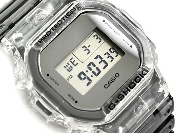 G-SHOCK Gショック ジーショック Clear 限定モデル Clear Gショック Skeleton クリアスケルトン 逆輸入海外モデル G-SHOCK カシオ CASIO デジタル 腕時計 スケルトン グレー DW-5600SK-1DR DW-5600SK-1【あす楽】, 100%品質:d2c32186 --- officewill.xsrv.jp