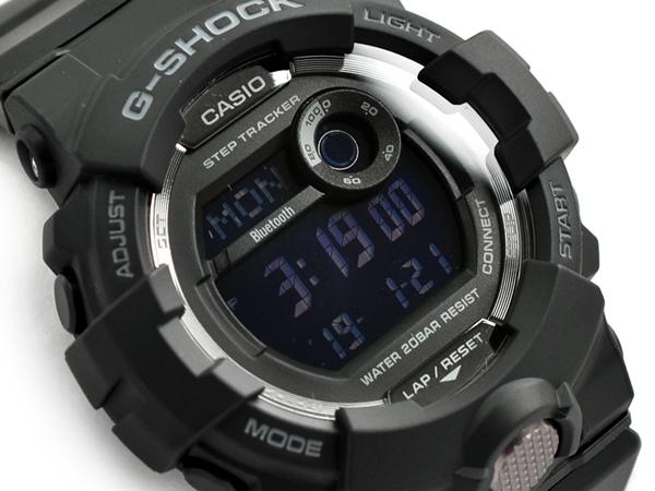 4978a0302 ... モバイルリンク function reimportation foreign countries model Casio CASIO  digital watch oar black GBD-800-1BER GBD-800-1B