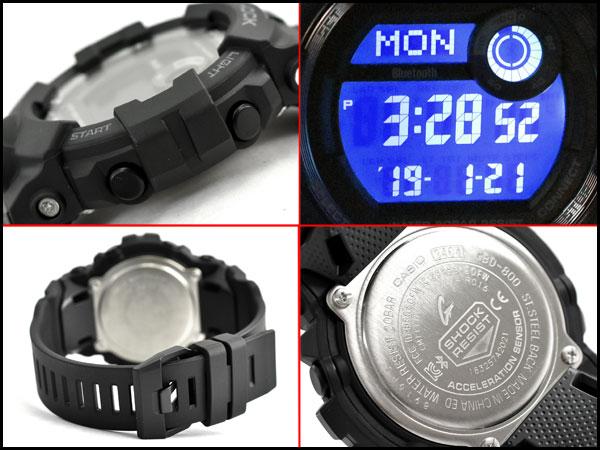7011bd275a0b It is G-SHOCK G ショックジーショック G-SQUAD ジースクワッドモバイルリンク function reimportation  foreign countries model Casio CASIO digital watch oar black ...