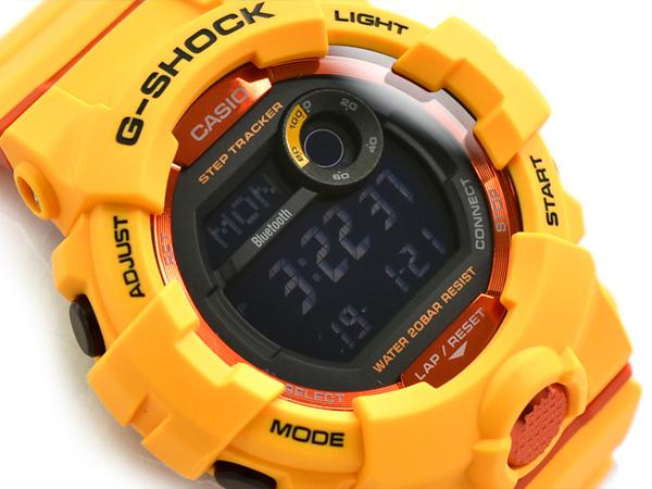 It is G-SHOCK G ショックジーショック G-SQUAD ジースクワッドモバイルリンク function reimportation  foreign countries model Casio CASIO digital watch orange ... 1203c9ecbdc