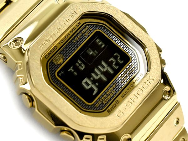 47069b09720 ... model Casio CASIO smartphone link electric wave solar digital watch  gold black GMW-B5000GD-9ER GMW-B5000GD-9 made in limited model full metal  5000 Japan ...