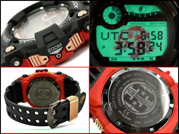 Made in Japan magma ocean reimportation foreign countries model Casio  electric wave solar digital watch GWF-1035F-1DR GWF-1035F-1 made in limited