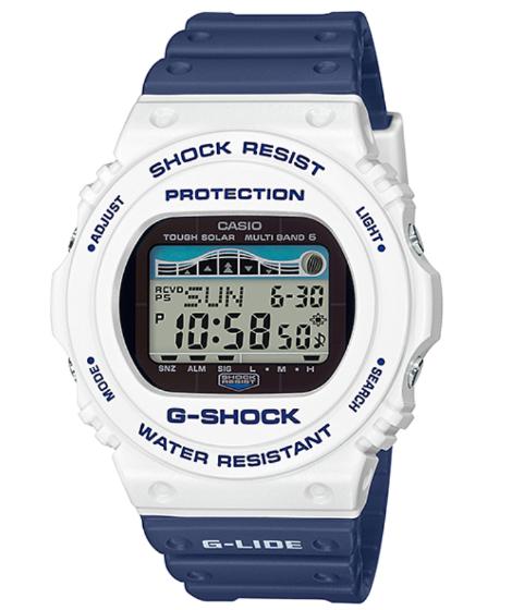 G-SHOCK Gショック ジーショック ネイビー カシオ デジタル CASIO 電波 ジーショック ソーラー デジタル 腕時計 ホワイト ネイビー GWX-5700SS-7JF【国内正規モデル】【あす楽】, 利根町:e46753e1 --- officewill.xsrv.jp