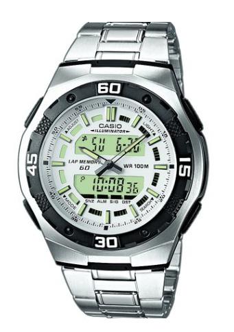 1f5a2e7cb9c Casio CASIO STANDARD standard an analog-digital watch AQ-164WD-7AJF  domestic regular articles made of silver