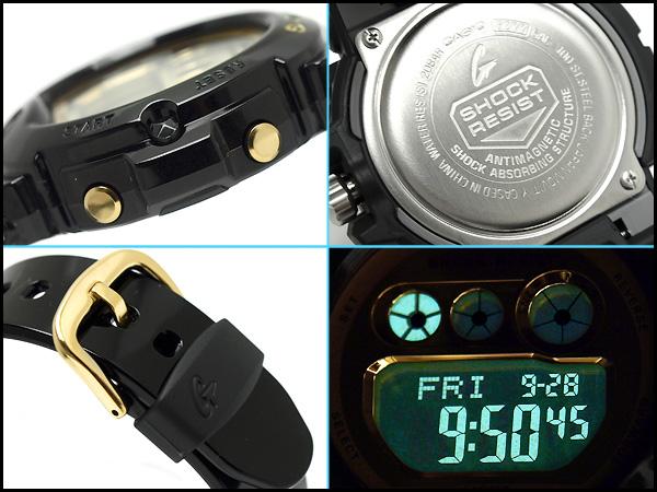 496724e79b1 G-SUPPLY  Casio baby G ladies digital watch metallic gold dial-black ...