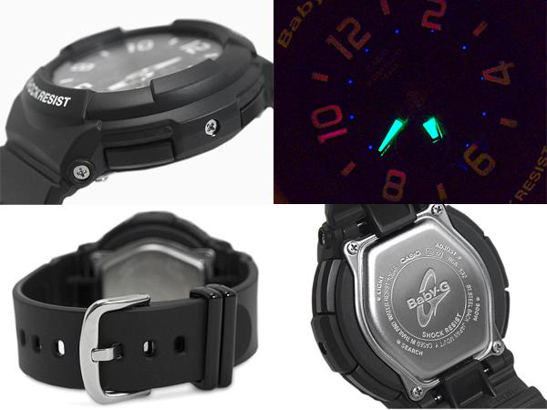 + Baby-g baby G CASIO Casio digital watches baby-g Neon Dial Series neon dial series black BGA-132-1BDR