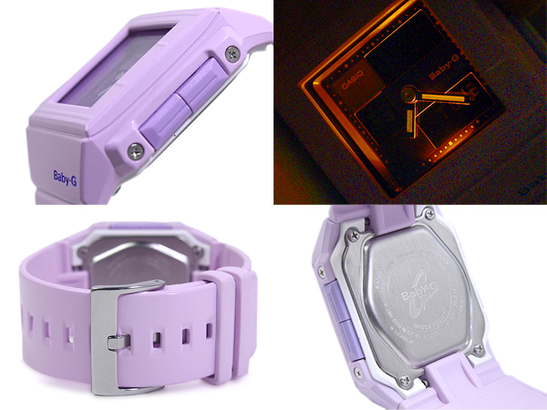CASIO baby-g Casket Casio baby G casket an analog-digital watch purple BGA-200-6E BGA-200-6EDR