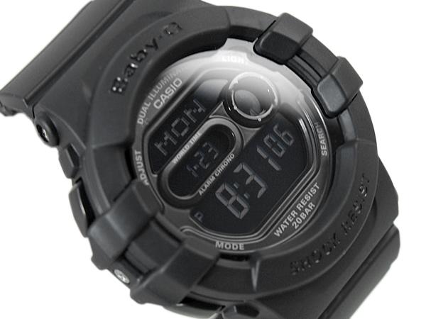 CASIO Casio baby-g baby G watches デュアルイルミネーター Matt Black BGD-140-1ADR