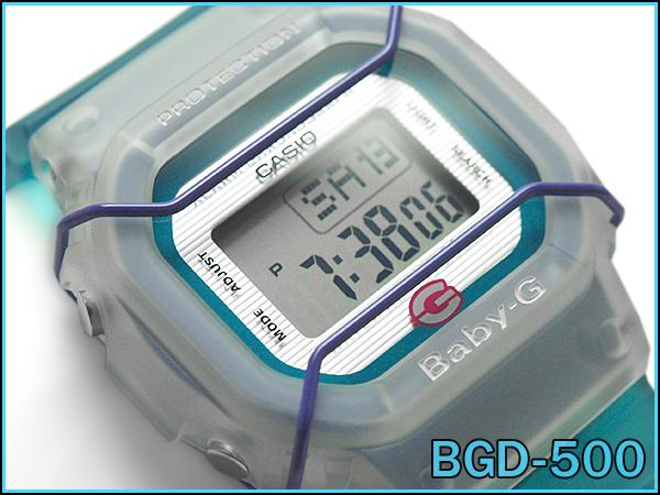 BGD-500-3CR 嬰兒 g 嬰兒照顧凱西歐凱西歐手錶