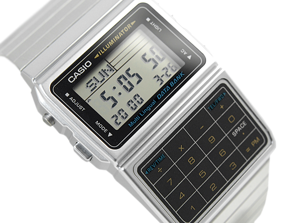 Casio Databank Casio Data Bank Electronic Calculator Function Digital Watch Reimportation Foreign Countries Model Silver Black Dbc 611 1df Dbc 611 1