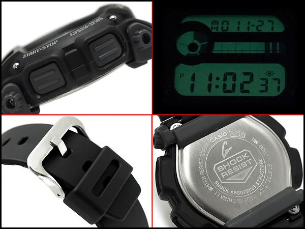 Domestic not released overseas model Casio G shock model basic digital watch black urethane belt DW-9052-1BDR