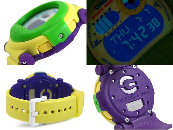 緑色的G打擊G打擊G-SHOCK CASIO卡西歐賈森超級彩色的手表數碼黄色G-001HC-3 G-001HC-3DR fs3gm