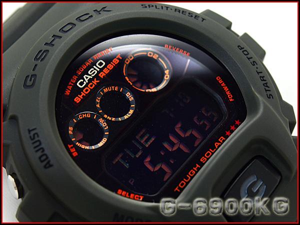 """""""凱西歐 gshock 凱西歐手錶 G-6900 公斤-3 博士 g-休克"""